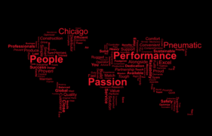 Chicago Pneumatic空壓機 - People Passion Performancc